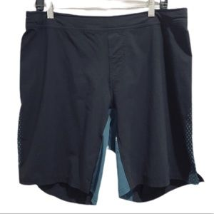 Adidas Climate Men's Shorts Black Blue Size Large